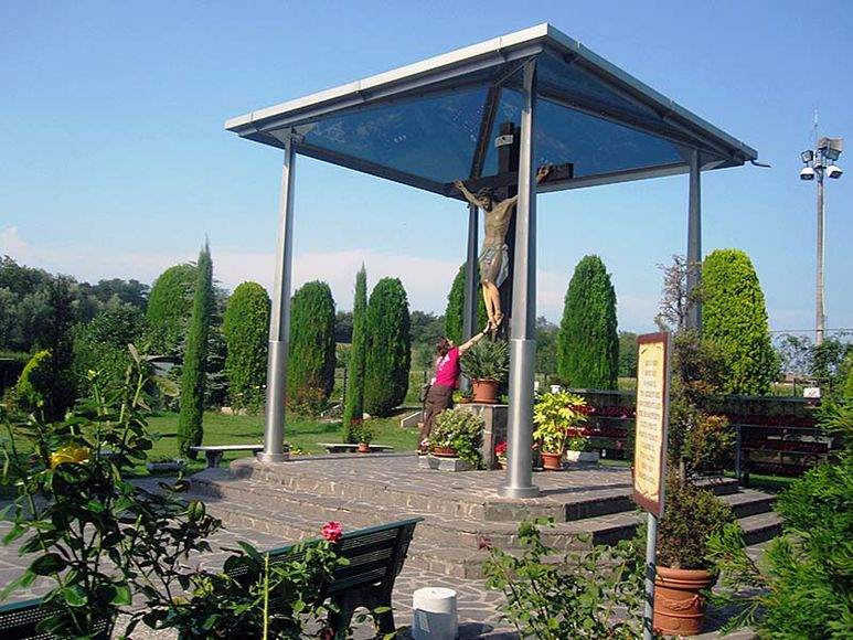 Das Heiligtum in Montechiari-Fontanella