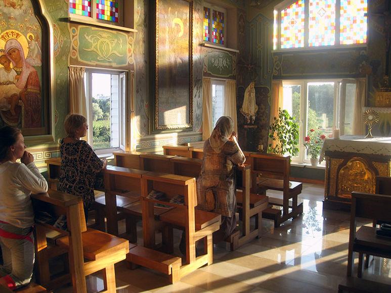 Oekumenische Kapelle im Haus