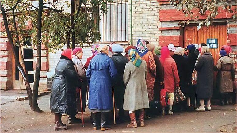 Suppenküche in Moskau