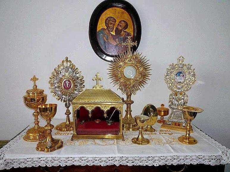 Diverse Reliquien