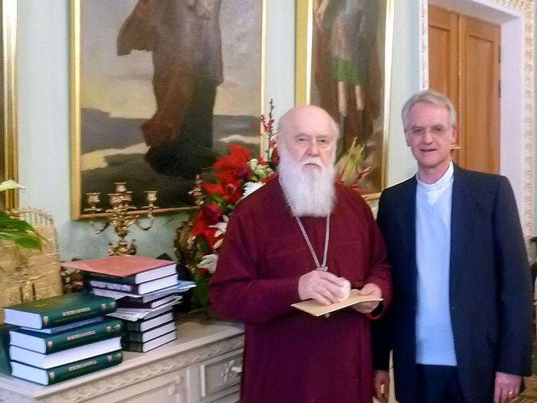 P. Rolf-Philipp Schönenberger mit Bischof