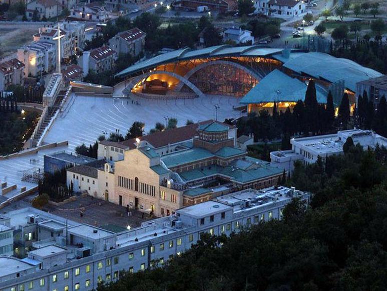 Die 'Casa di San Pio' von Renzo Piano