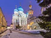 Kirche in Moskau Perervinsky