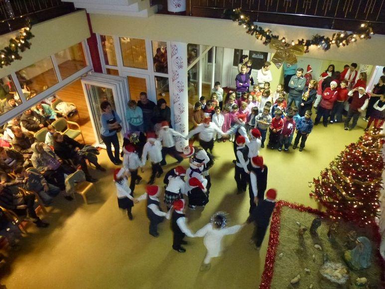 Weihnachtsfeier im Heim
