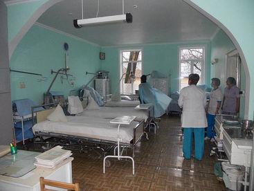 Neue Krankenbetten