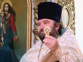 Reliquienübergabe des hl. Nikolaus in Mordovia