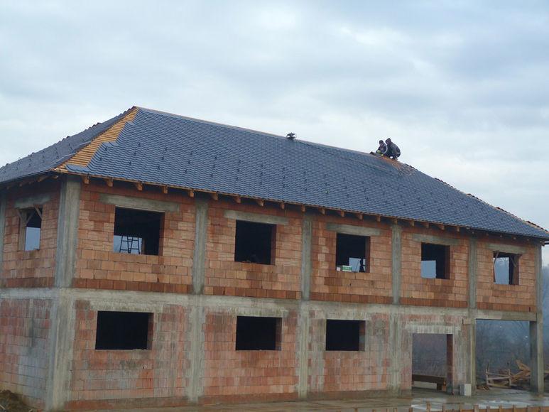 Pavillon mit Dachstock