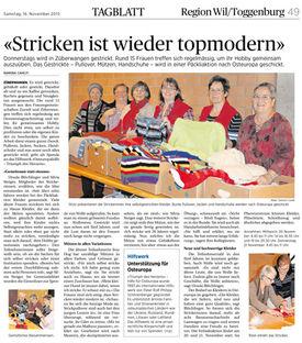 Abbildung des Artikels aus dem Tagblatt