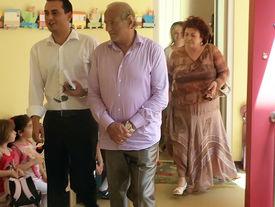 Gheorghe Zamfir zu Besuch