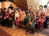 Kinder im Kinderzentrum in Novoje