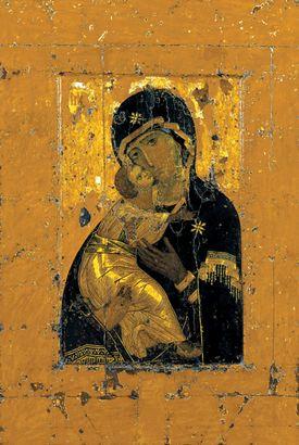 Ikone der Gottesmutter von Wladimir (Wladimirskaja)