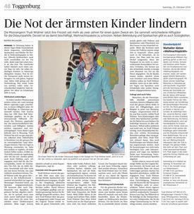 Abbildung des Artikel aus der Thurgauer Zeitung