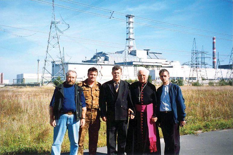 P. Rolf und Bischof Hnilica