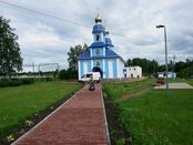 Orthodoxe Kirche in Uschakow