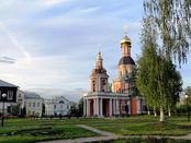 orthodoxe Kirche in Sviblovo Moskau