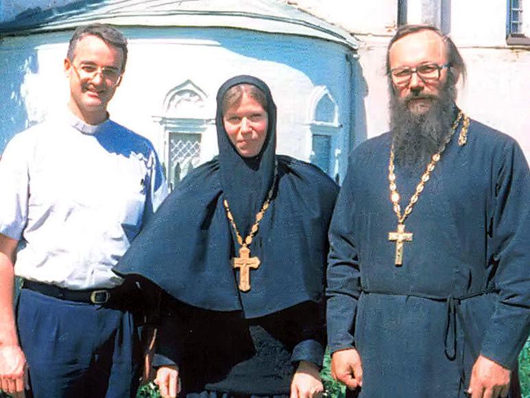 P. Rolf Schönenberger in Russland