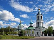 Orthodoxe Kirche in Molkovo