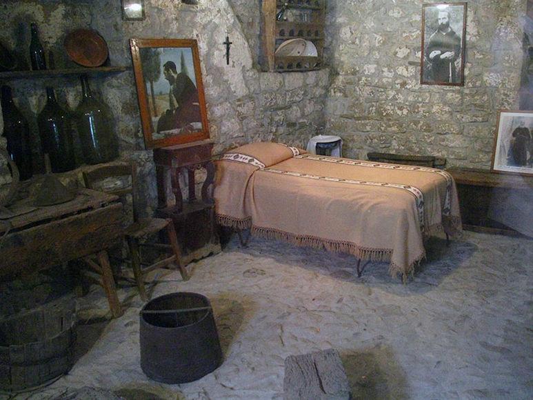 Im Geburtshaus von P. Pio in Pietrelcina