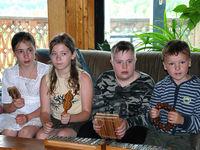 Kinder im Jugendzentrum in Jaropolzy