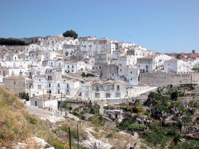 Die Altstadt von Monte Sant'Angelo