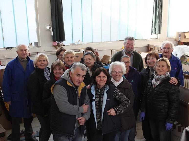 Die ehrenamtlichen Helfer der Ukrainehilfe Klagenfurt