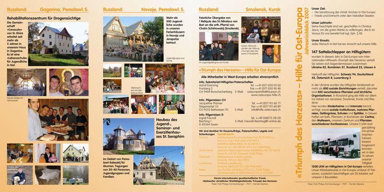 Abbildung des Jahresberichts 2007