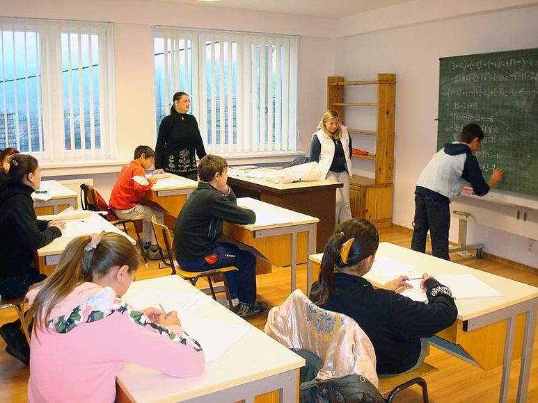 Schulunterricht im Kinderzentrum