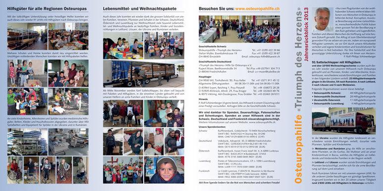 Abbildung des Jahresberichts 2013