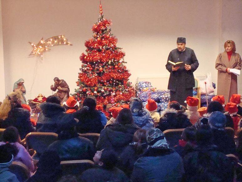 Predigt eines Pfarrers zum Weihnachtsfest