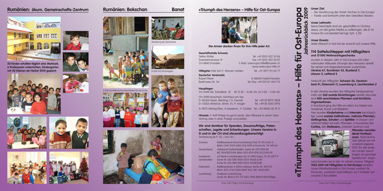 Abbildung des Jahresberichts 2009
