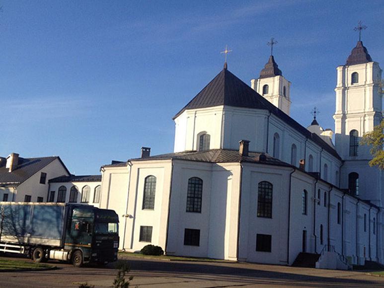 Kirche von Aglona, Lettland