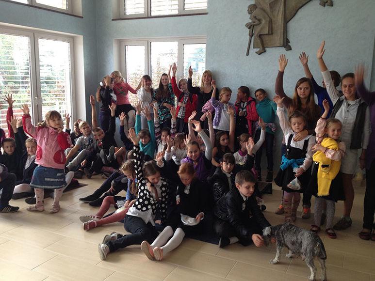 Kinder im oekumenischen Bildungshaus