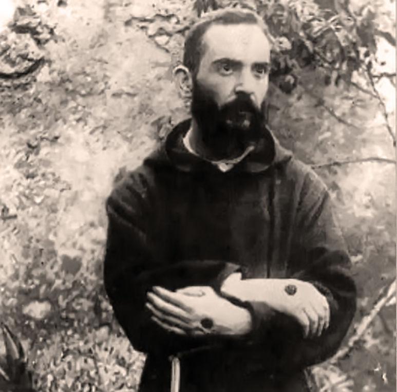 Padre Pio im Jahr 1919