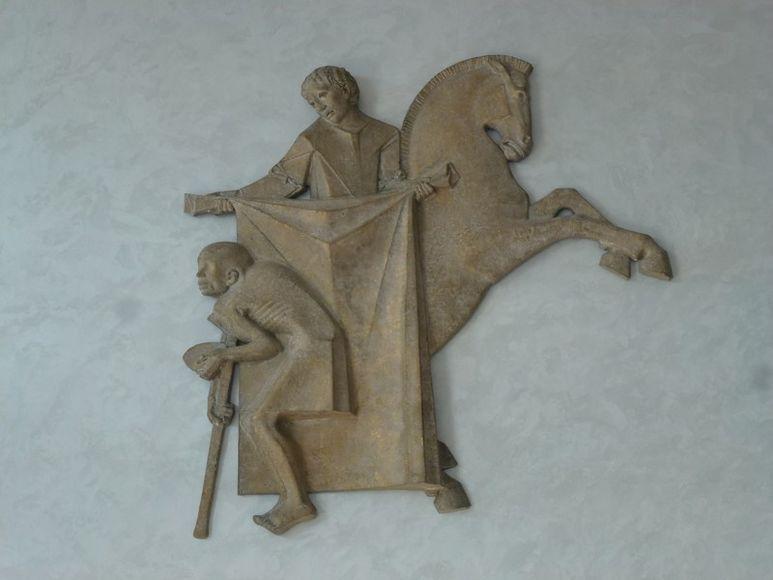 Skulptur des Hl. Martin von Tours