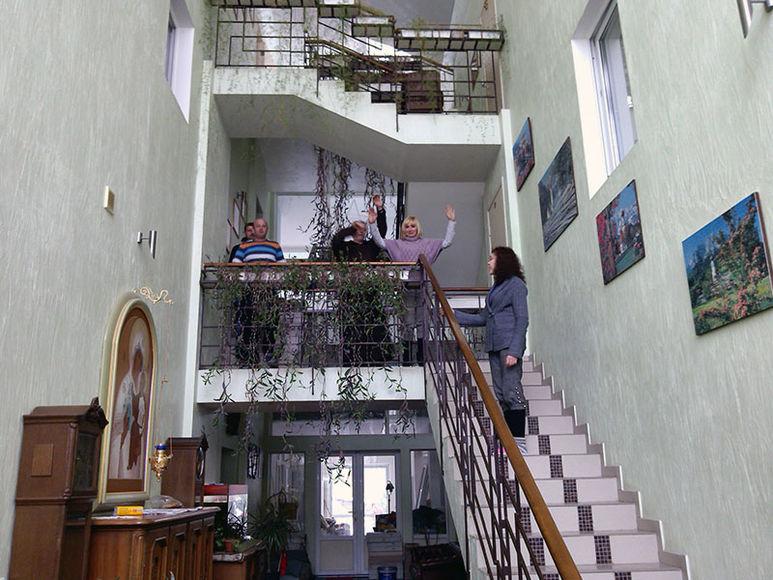 Treppenhaus im Dom Marii
