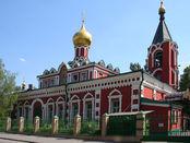 Kirche in  in Marjina Roschtscha, Moskau