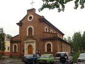 """Kirche """"Unserer lieben Frau von der Immerwährenden Hilfe"""" in Petrosawodsk"""