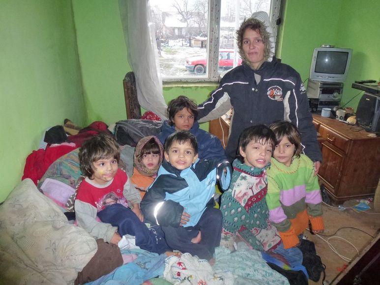 Besuch bei behinderten Kindern