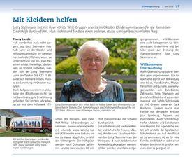 Abbildung Artikel der Villmerger Zeitung