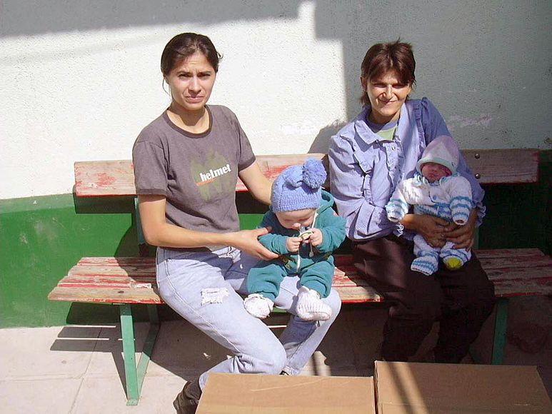 Mütter mit ihren Babys