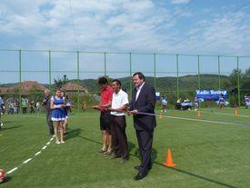 Eröffnung des Sportplatzes
