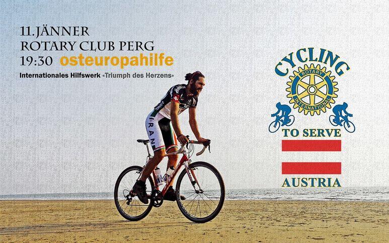 Helmut Pucher auf dem Rennrad