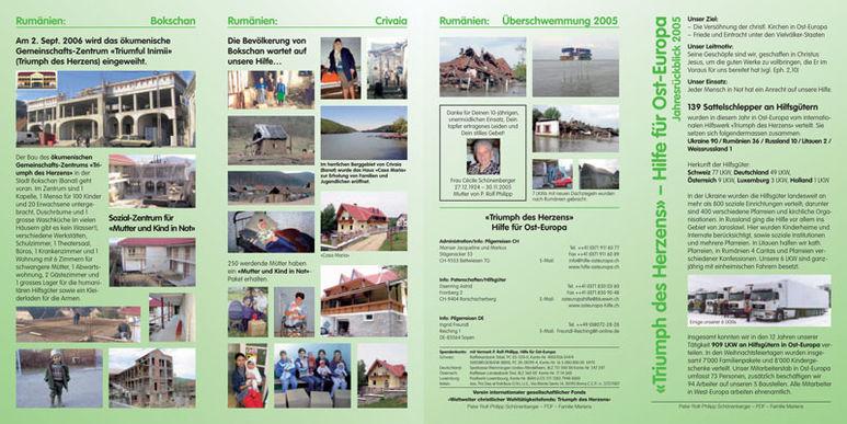 Abbildung des Jahresberichts 2005