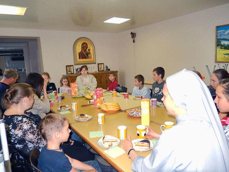 Kinder im Kinderzentrum
