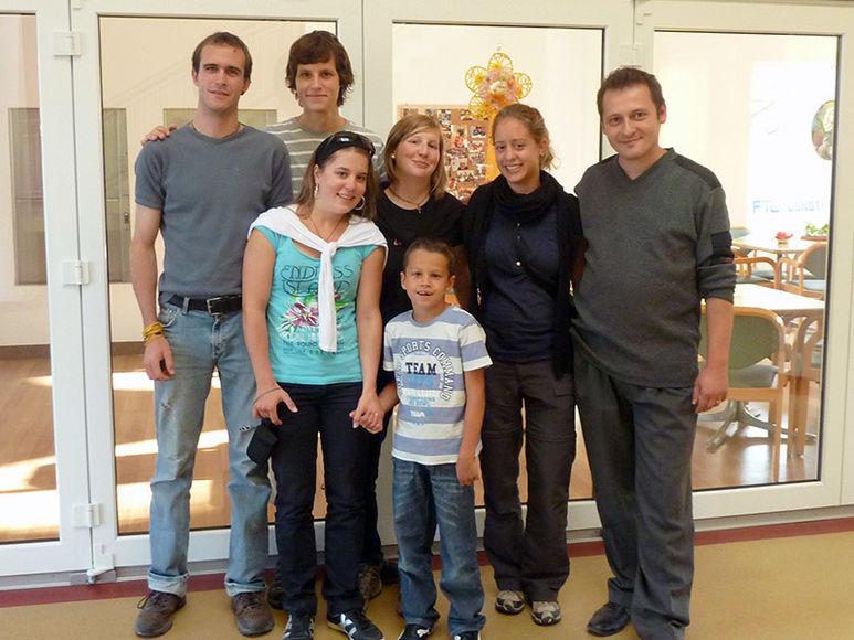 Schweizer Jugendliche zu Besuch