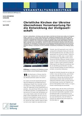 Abbildung des Beitrages der Konrad Adenauer-Stiftung