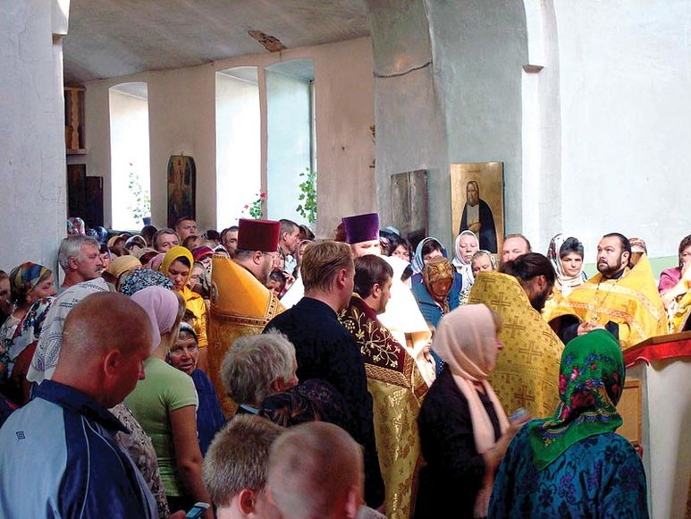 Reliquienübergabe des heiligen Nikolaus