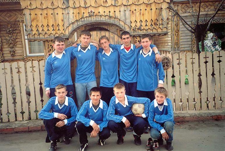 Fussballteam Novoje