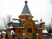 Orthodoxe Nikolauskirche in Moskau.