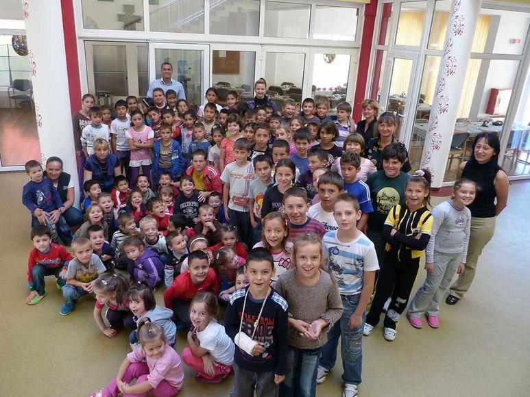 Kinder des Kinderzentrums